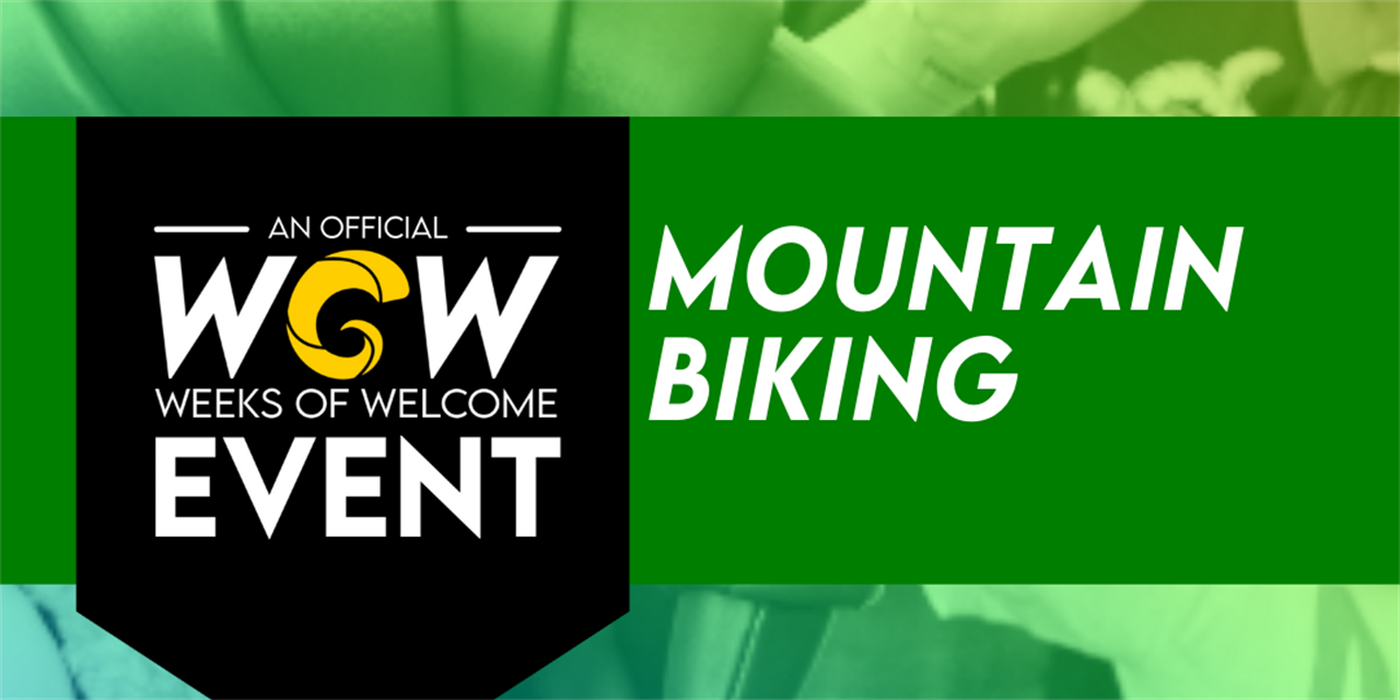 Mountain Biking Event Logo