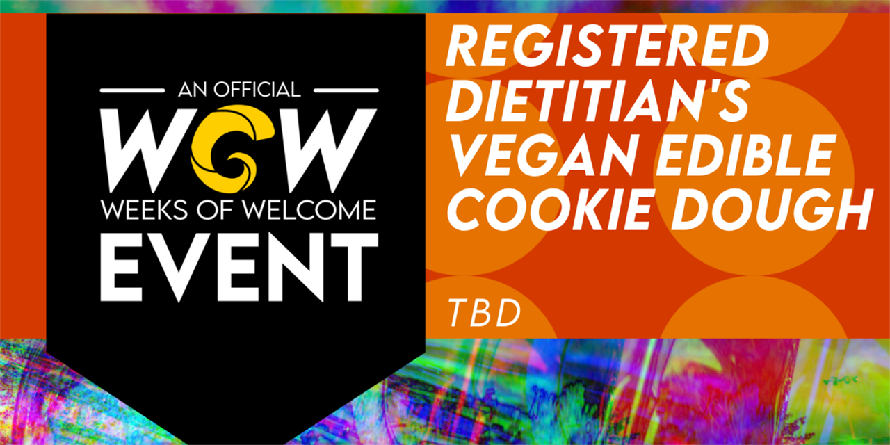 Registered Dietitian's Vegan Edible Cookie Dough Event Logo