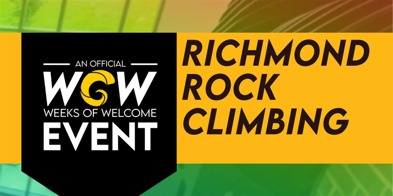 Richmond Rock Climbing Event Logo