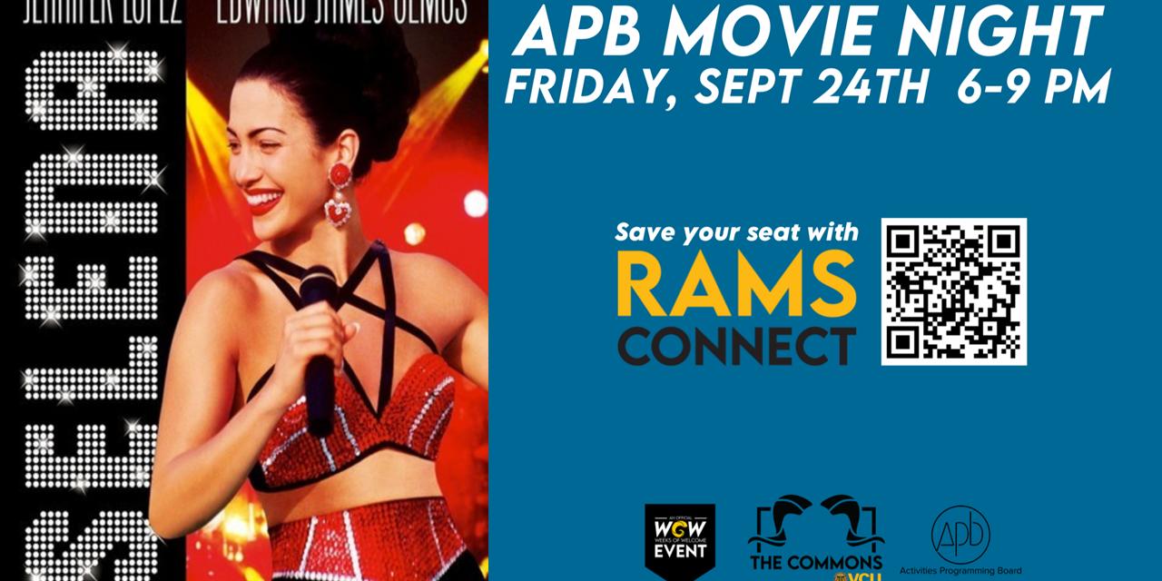APB Movie Night: Selena Event Logo