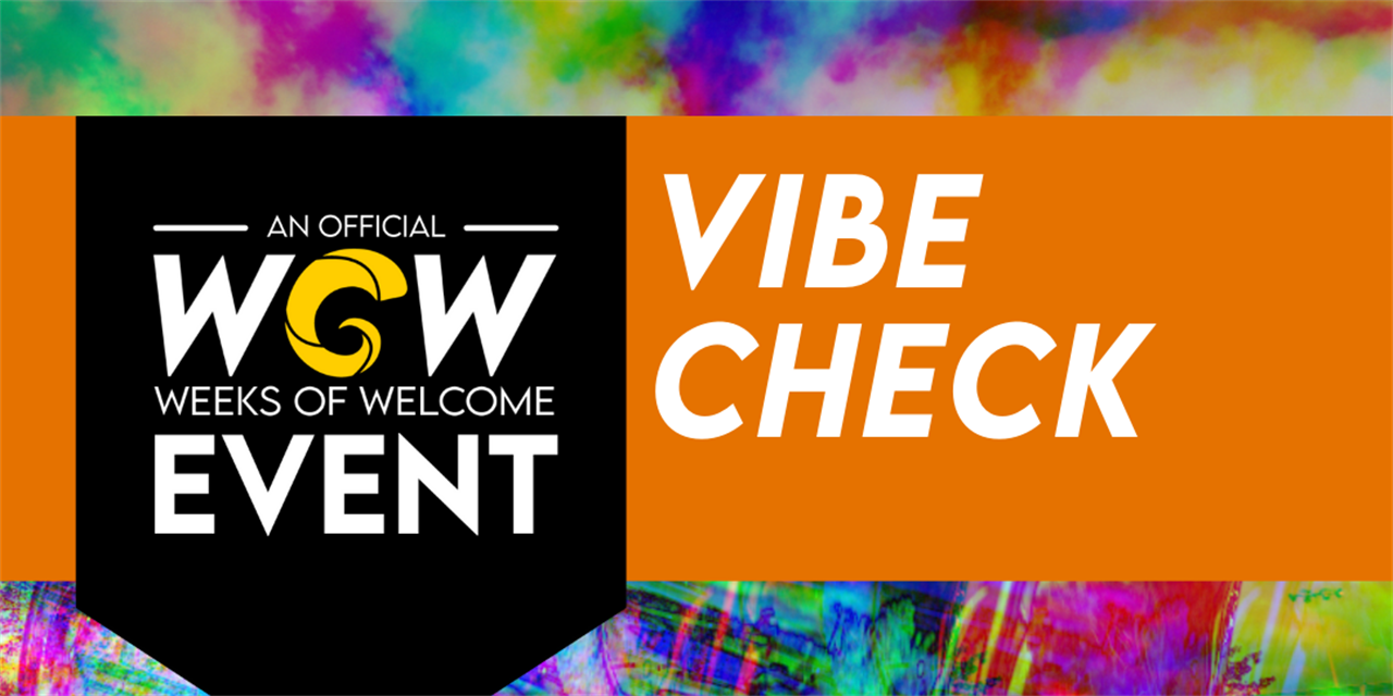 Vibe Check Event Logo