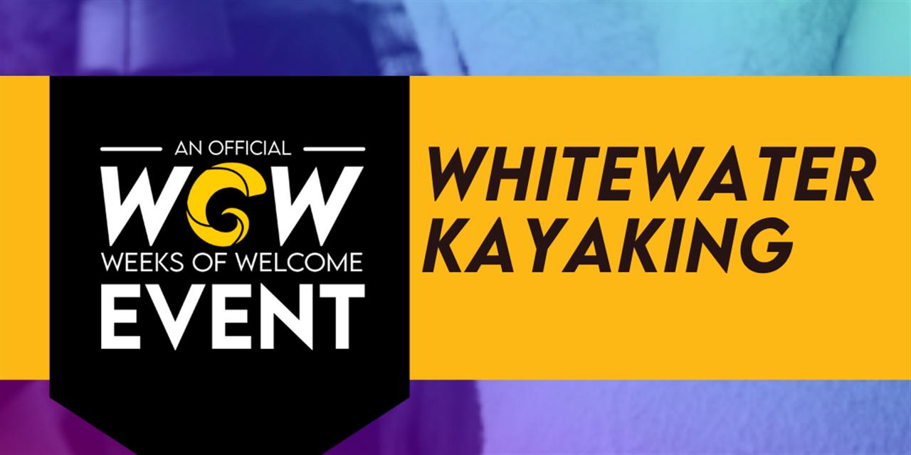 Whitewater Kayaking Event Logo