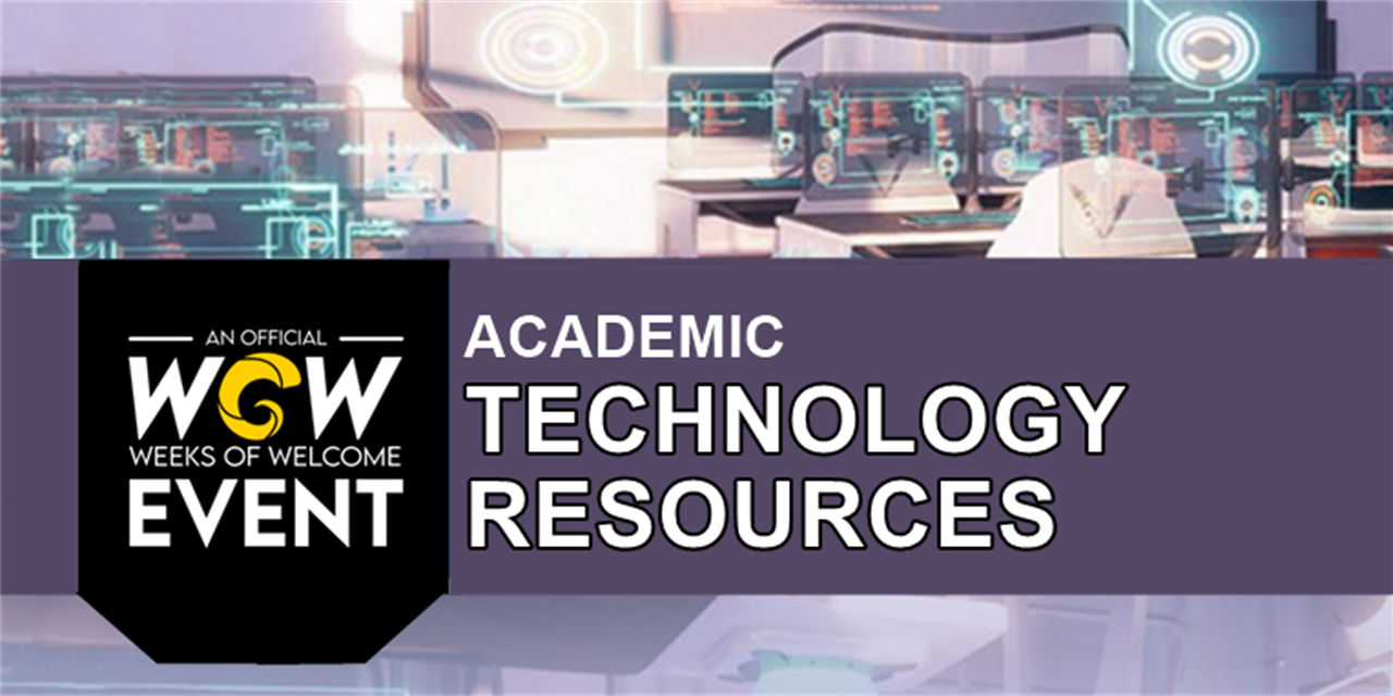Academic Technology Resources Event Logo