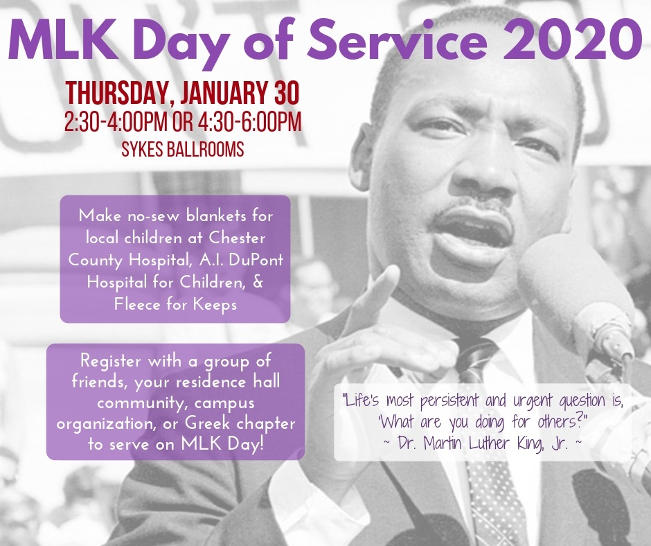 Martin Luther King Jr. Day of Service SESSION 2