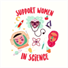Women in Science's logo
