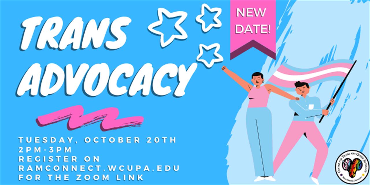 Trans Advocacy Event Logo