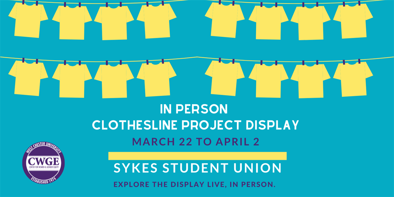 The Clothesline Project Display Event Logo