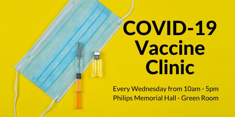 COVID-19 Vaccine Clinic Event Logo