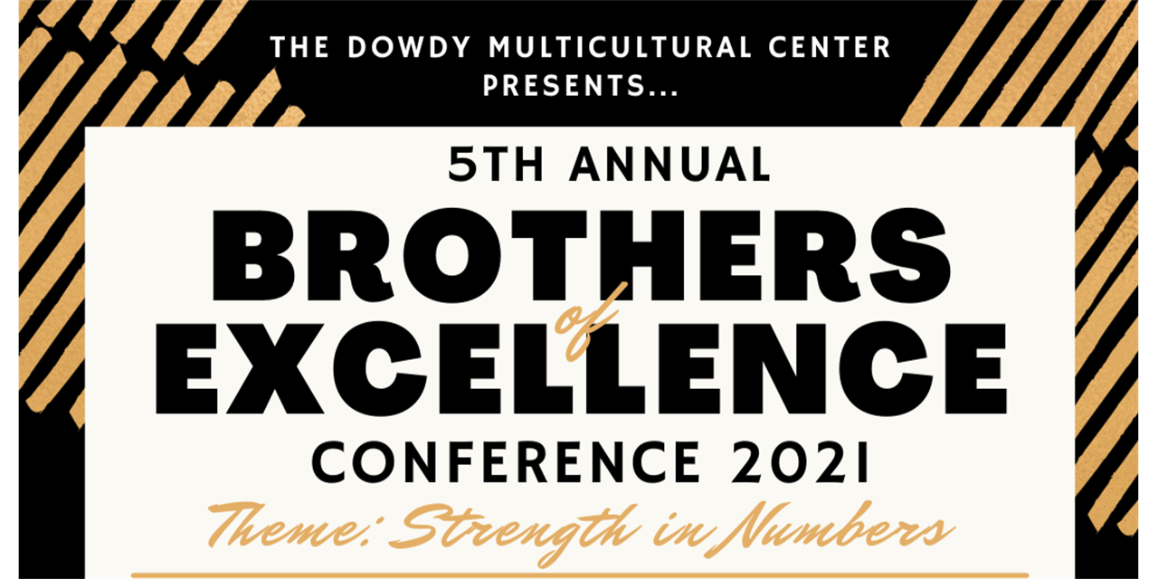 5th Annual Brothers of Excellence Conference 2021 Event Logo