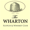 Wharton Scotch & Whiskey Club's logo