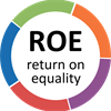 Return on Equality's logo