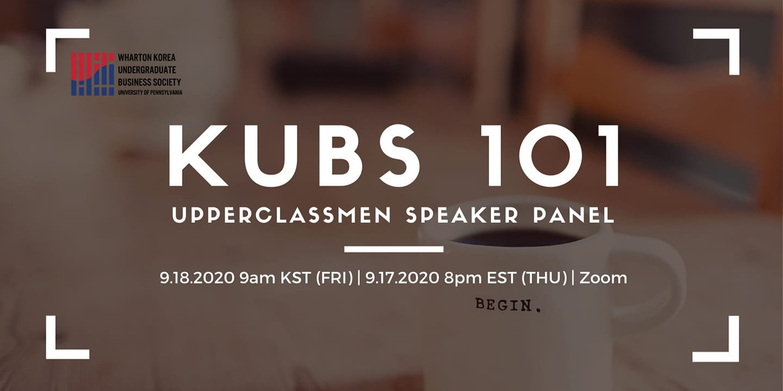 KUBS101