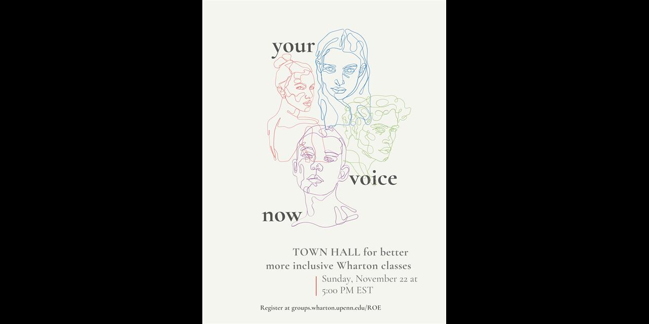 ROE Diversity Curriculum Town Hall Event Logo