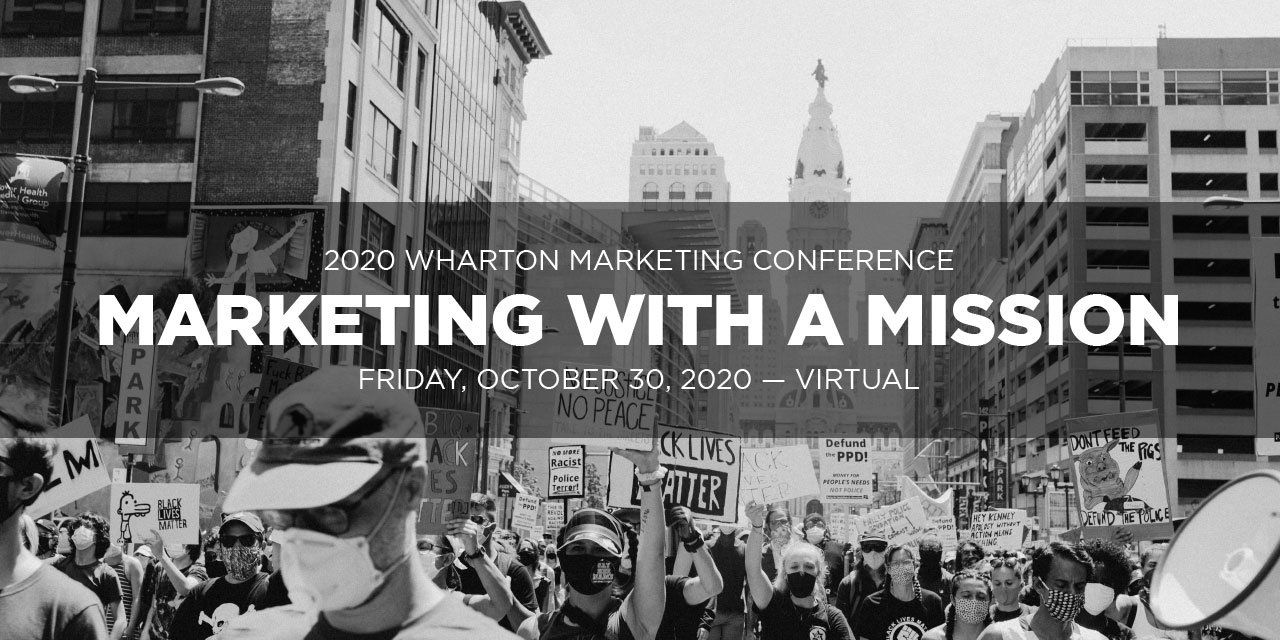 2020 Wharton Marketing Conference: Marketing with a Mission Event Logo