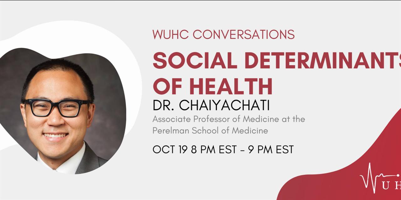WUHC Conversation: Social Determinants of Health