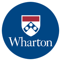 The Wharton School Logo Image.