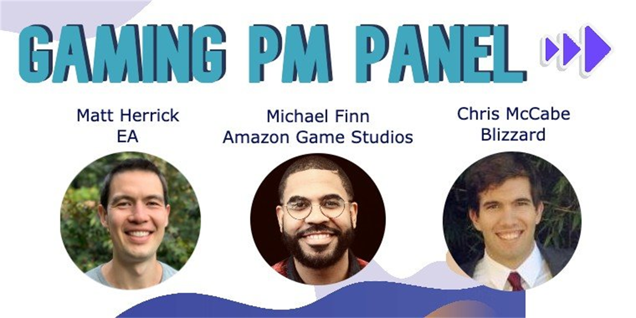 Product Management Demystified with Blizzard Entertainment, Electronic Arts and Amazon Game Studios Event Logo