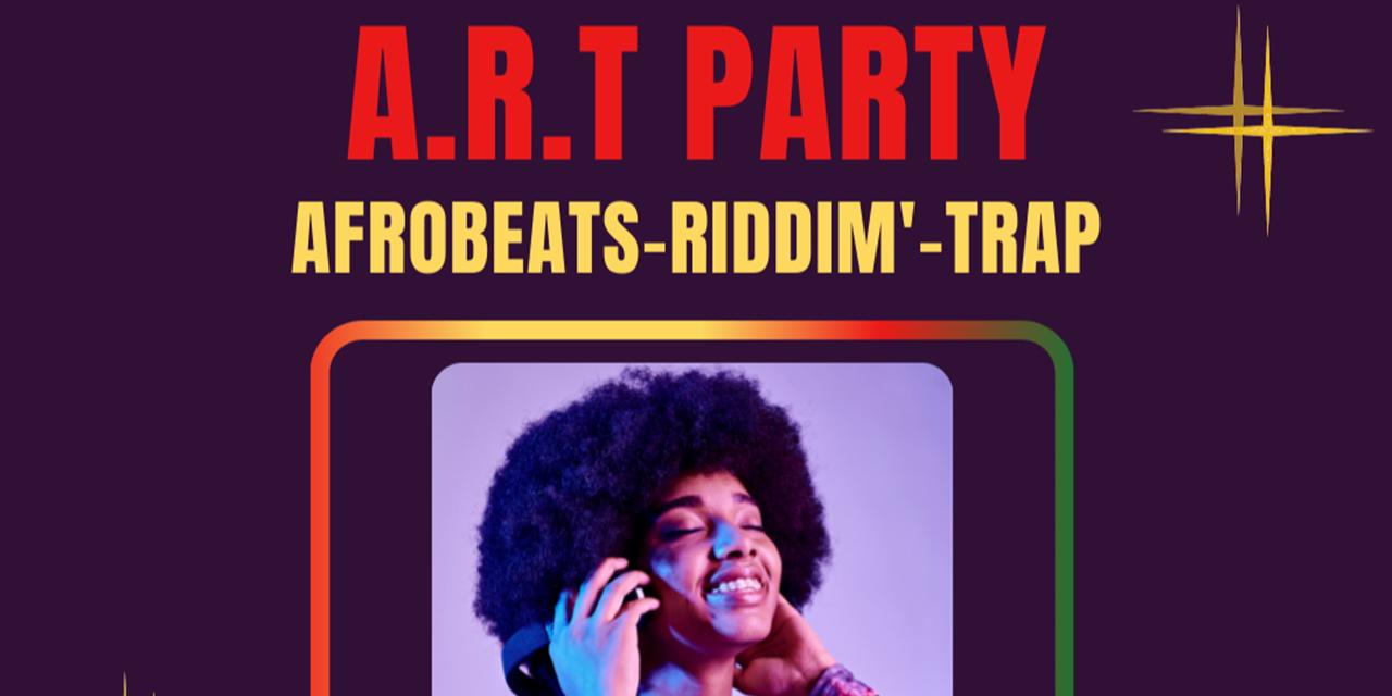 A.R.T PARTY: Afrobeats Riddim' & Trap (WASA) Event Logo