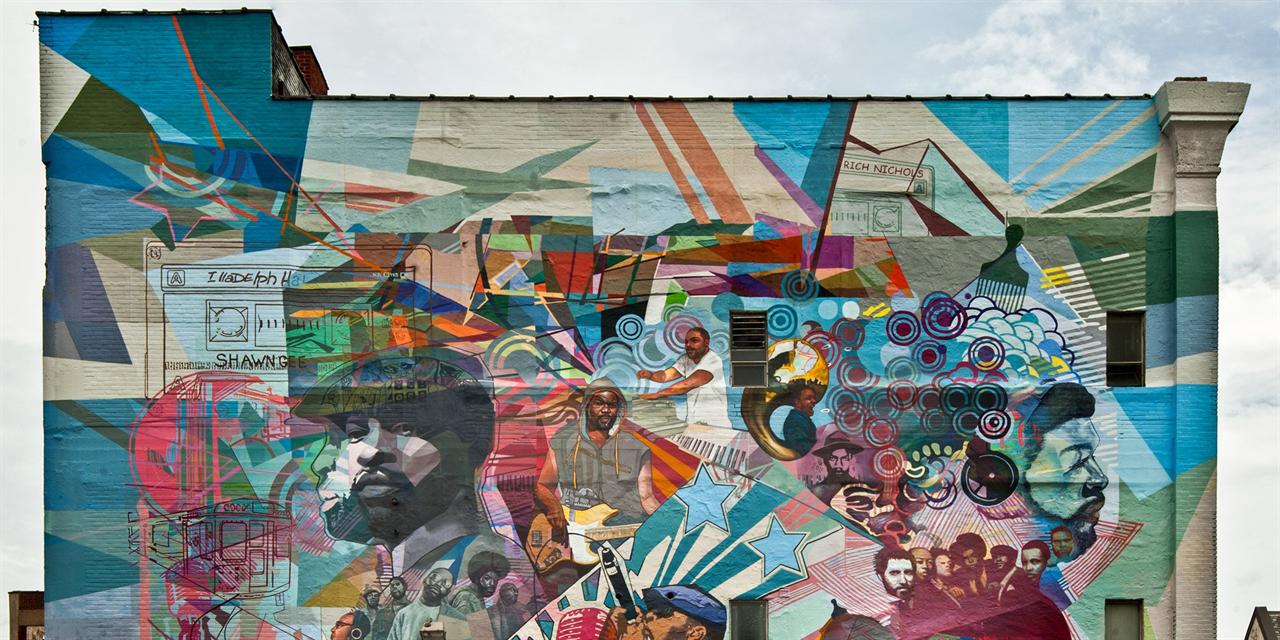 Mural Arts Tour Event Logo