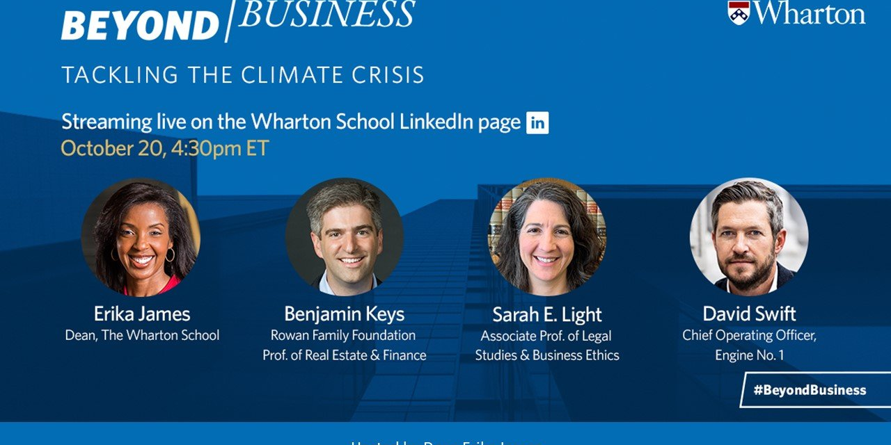 Beyond Business: Tackling the Climate Crisis Event Logo