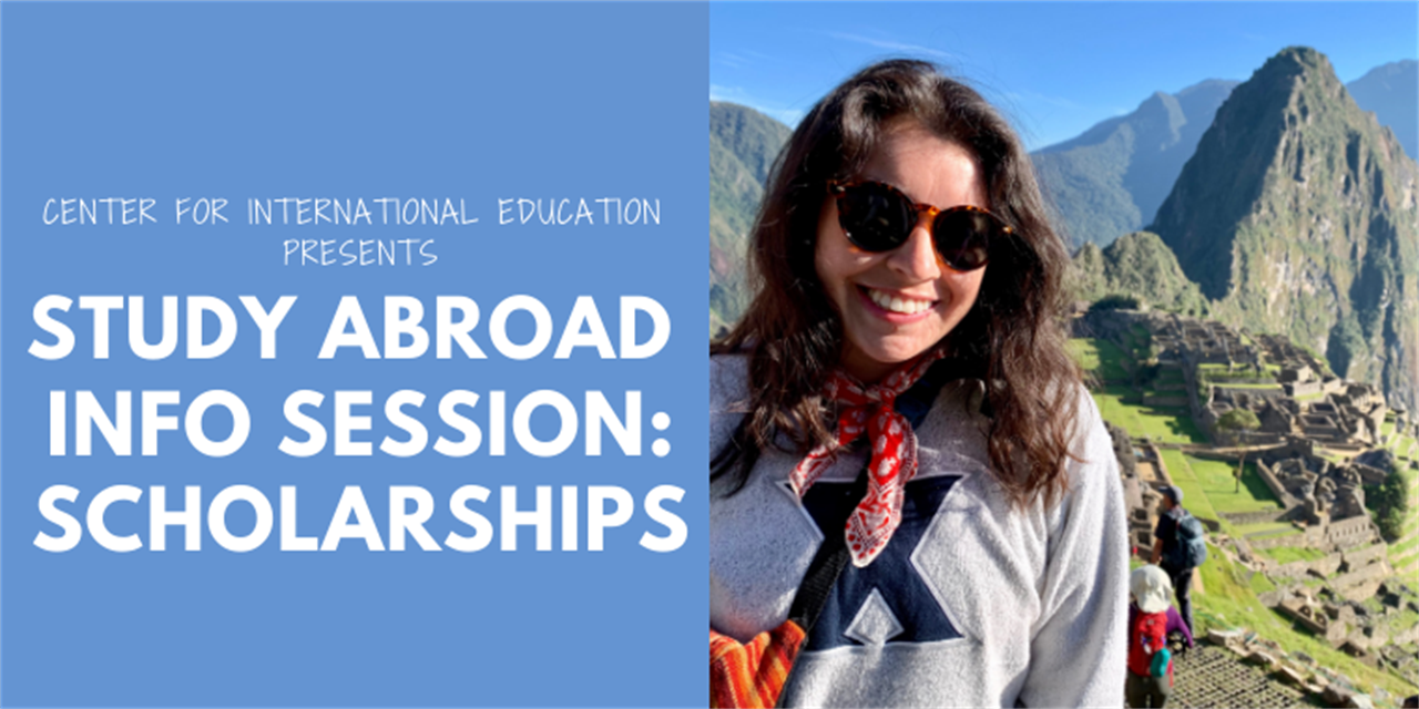 Information Session: Study Abroad Scholarships Event Logo