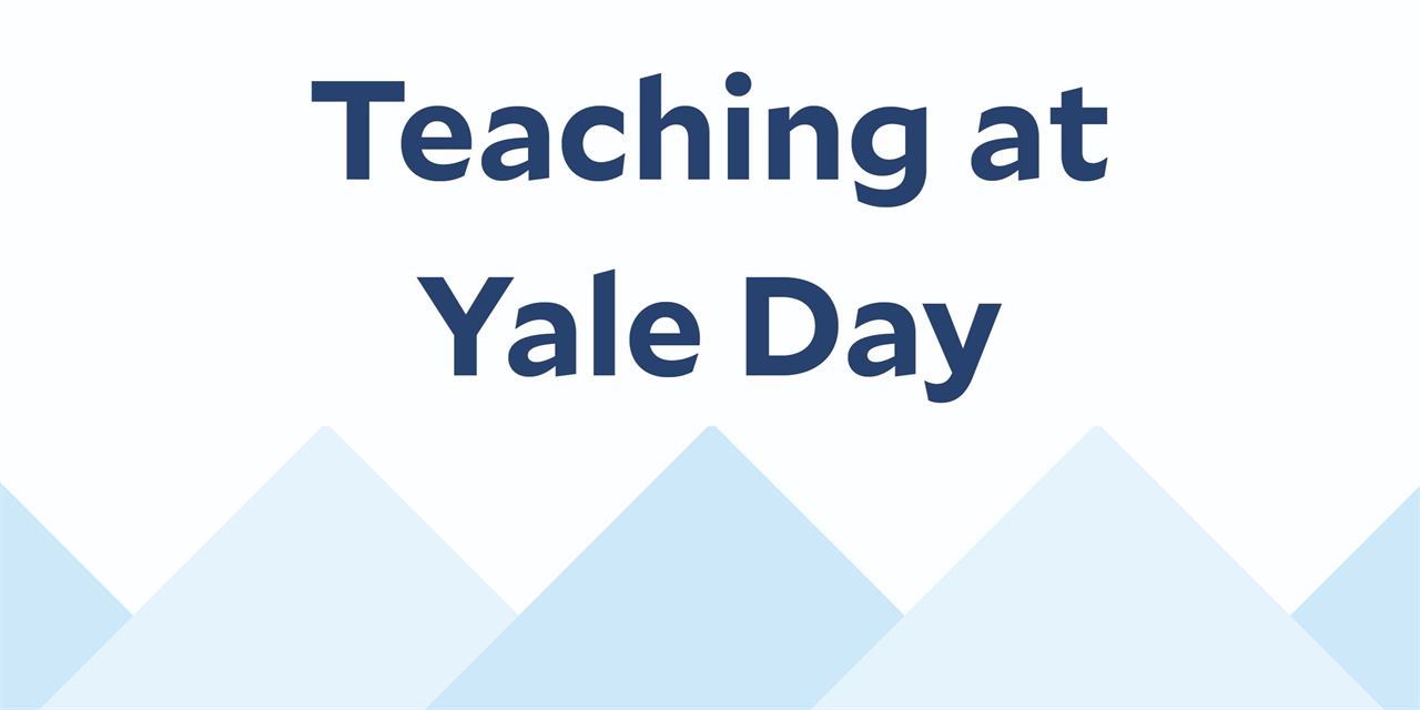 Teaching at Yale Day | T@YD Event Logo