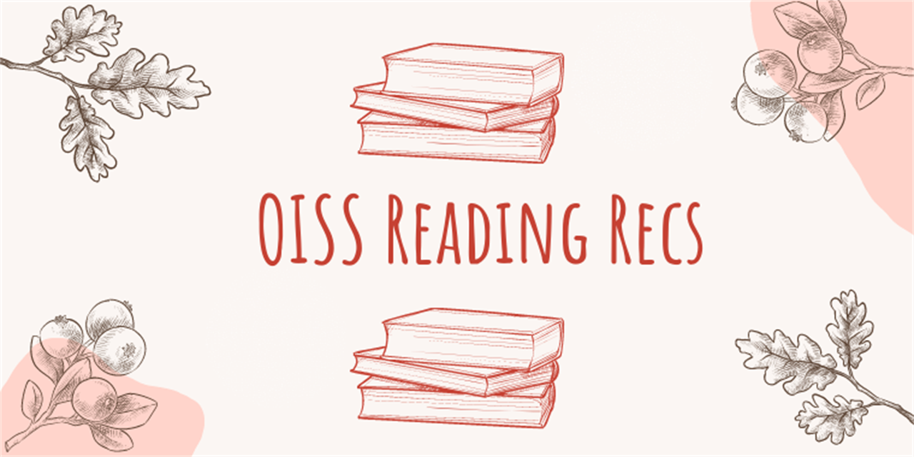 OISS Book Recommendations Event Logo