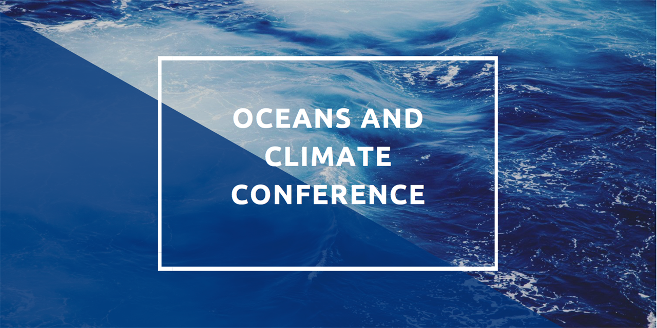 Oceans and Climate Conference Event Logo