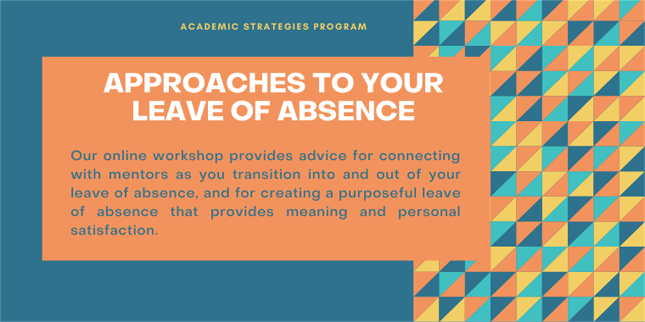 Approaches To Your Leave Of Absence Event Logo
