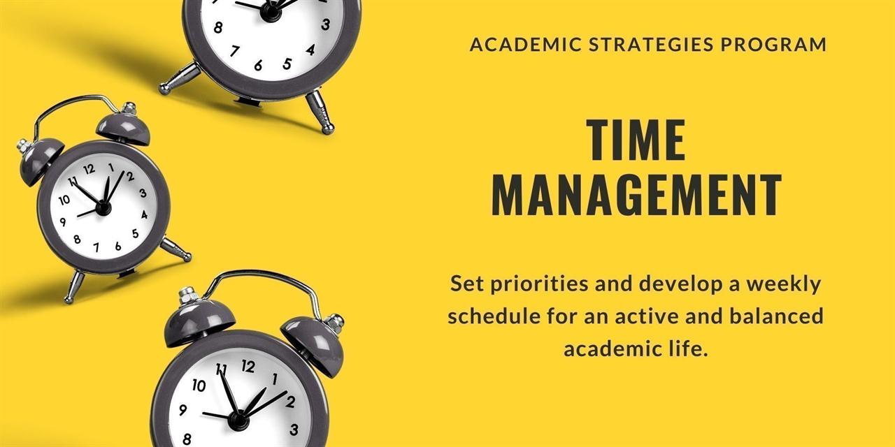 Time Management Event Logo