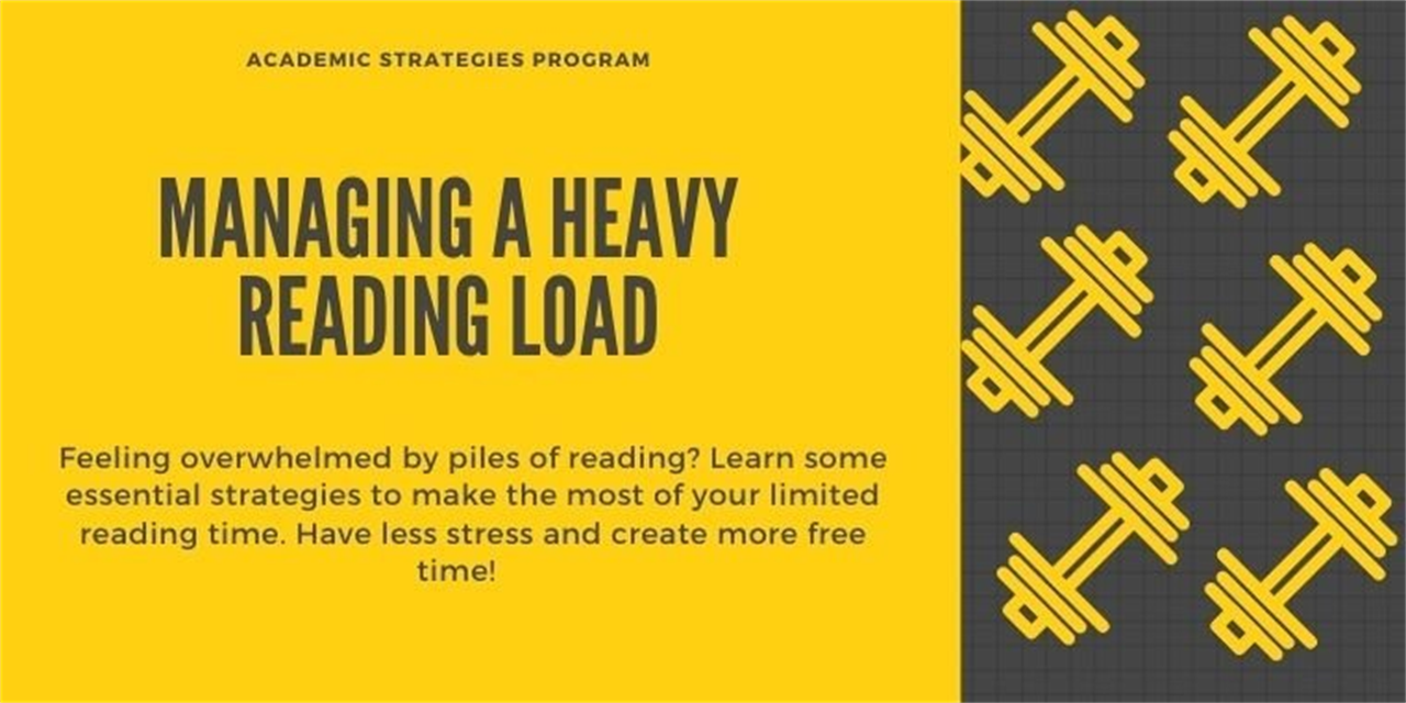 Managing A Heavy Reading Load Event Logo