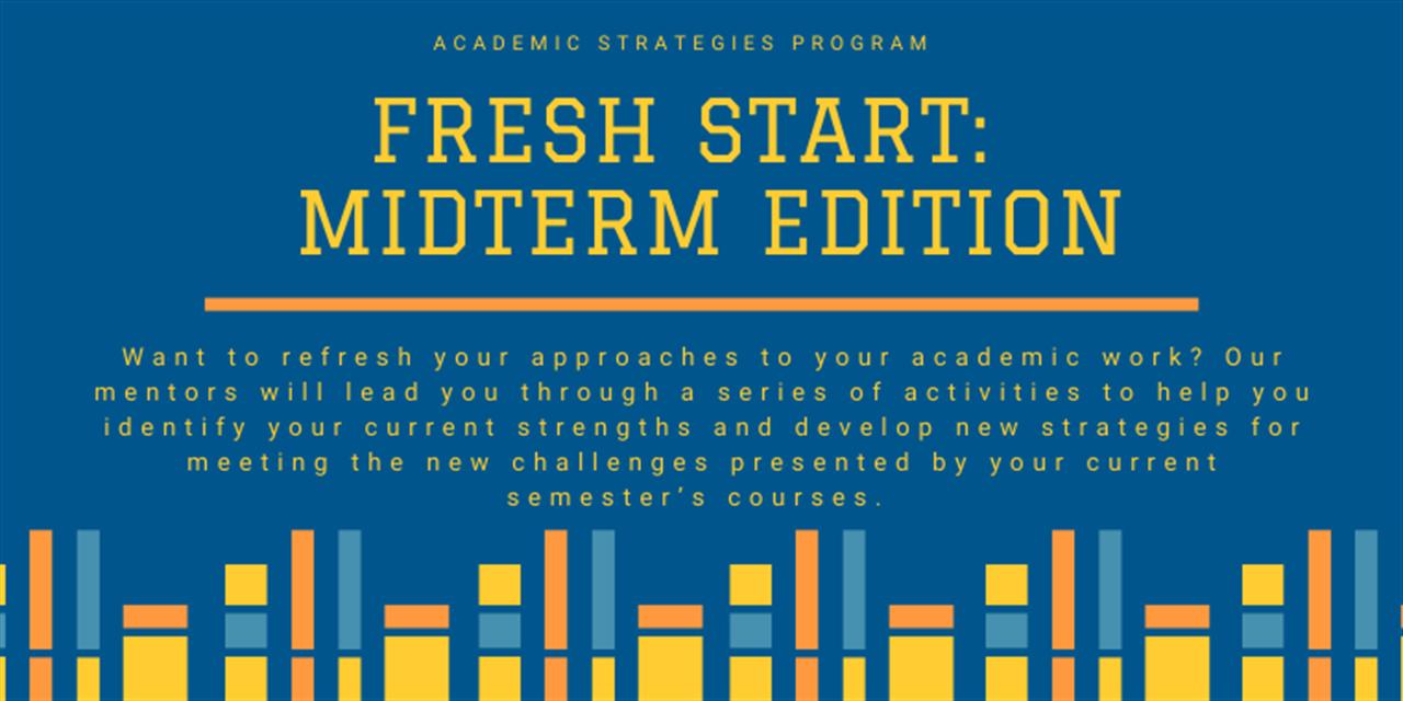 Fresh Start: Midterm Edition Event Logo