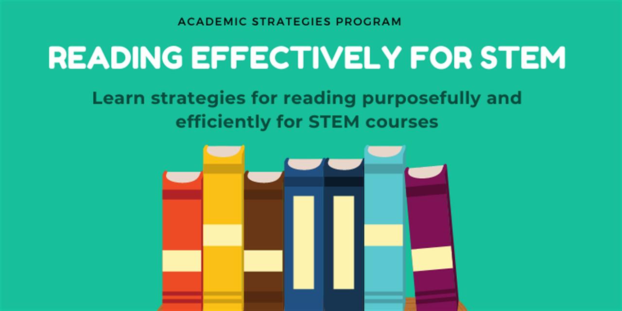 Reading Effectively For STEM Event Logo