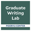 Poorvu Center: Graduate Writing Lab's logo