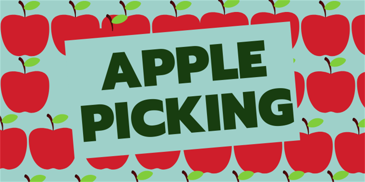Transfer Student Apple Picking Event Logo