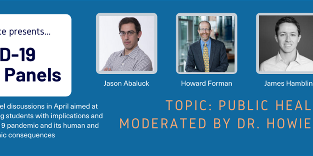 COVID-19 Faculty Panel: Public Health