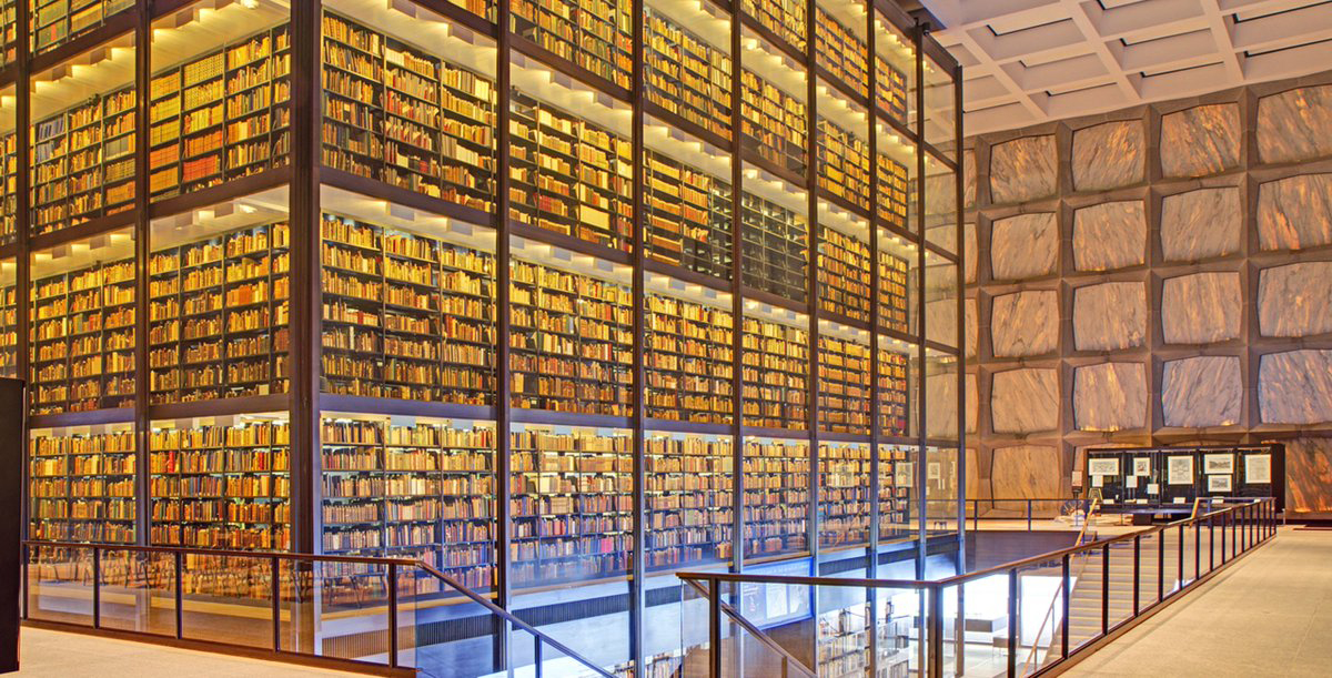 Behind-the-Scenes tour of the Beinecke Rare Book & Manuscript Library and Mory's Gathering