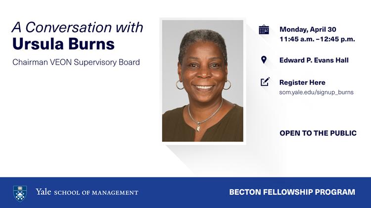 [LIVE STREAM] A Conversation with Ursula Burns, Chairman VEON Supervisory Board