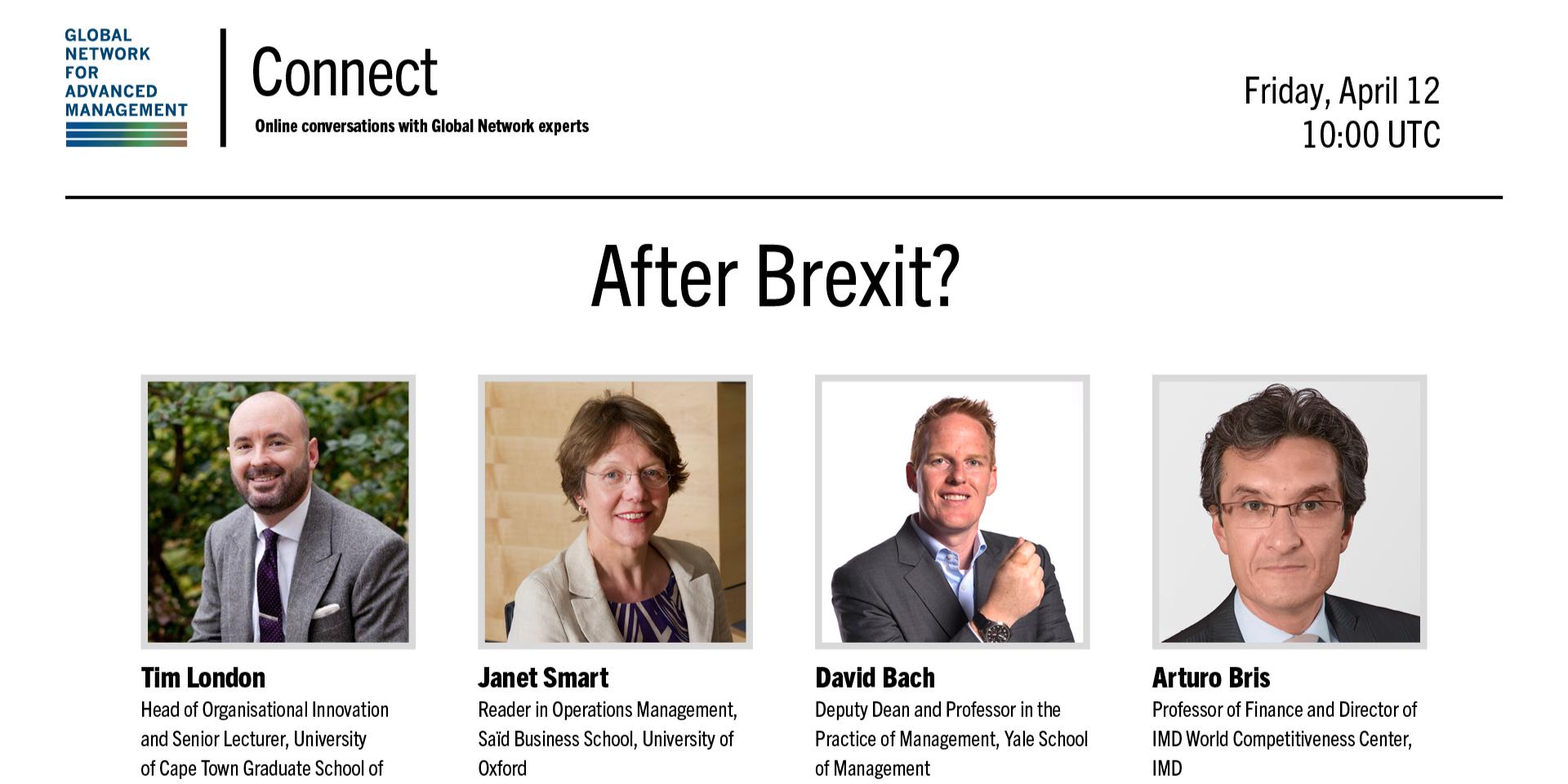 [WEBINAR] Global Network Connect: After Brexit?