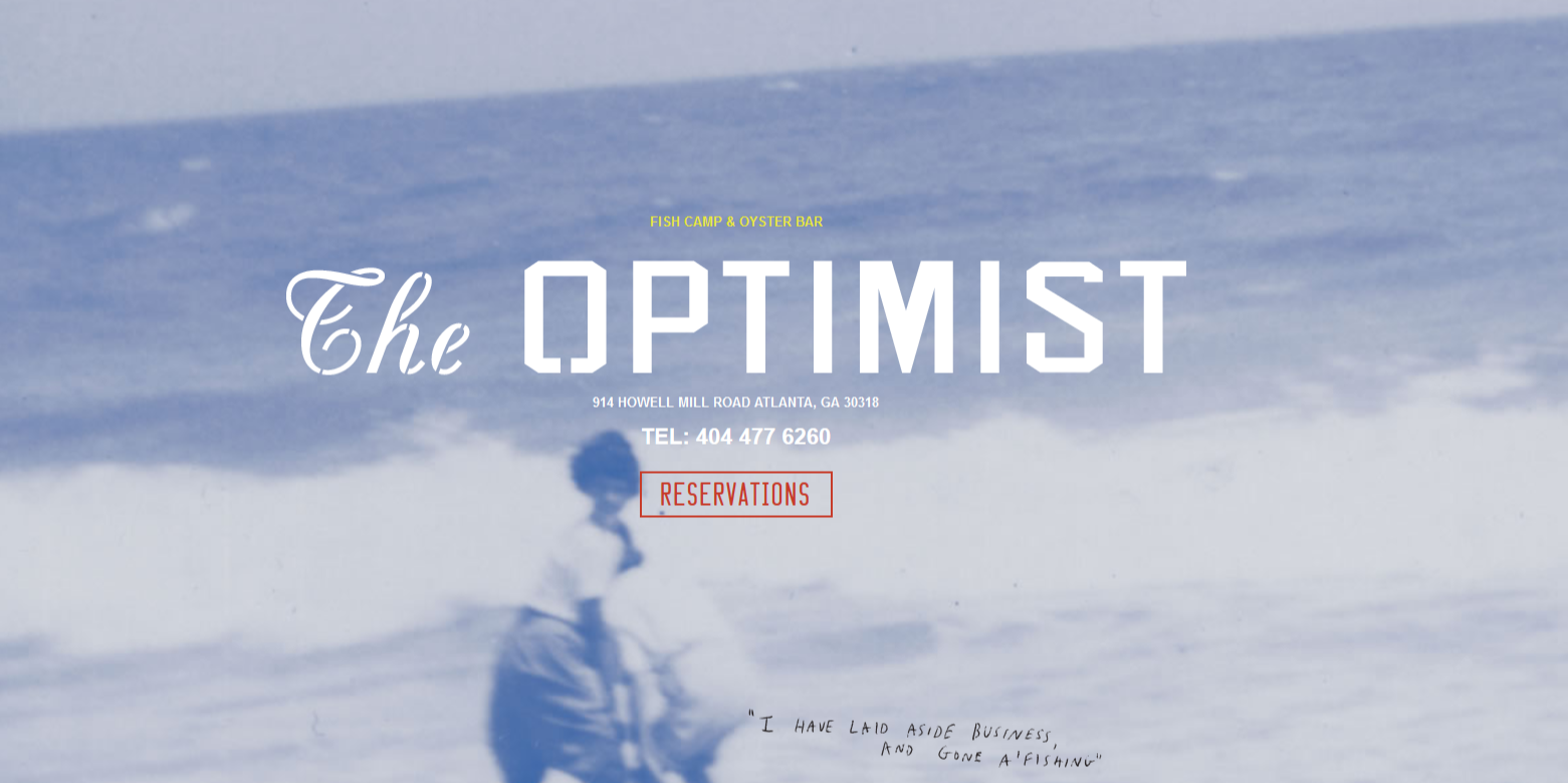 Atlanta Alumni Small Group Lunches - The Optimist (West Midtown)