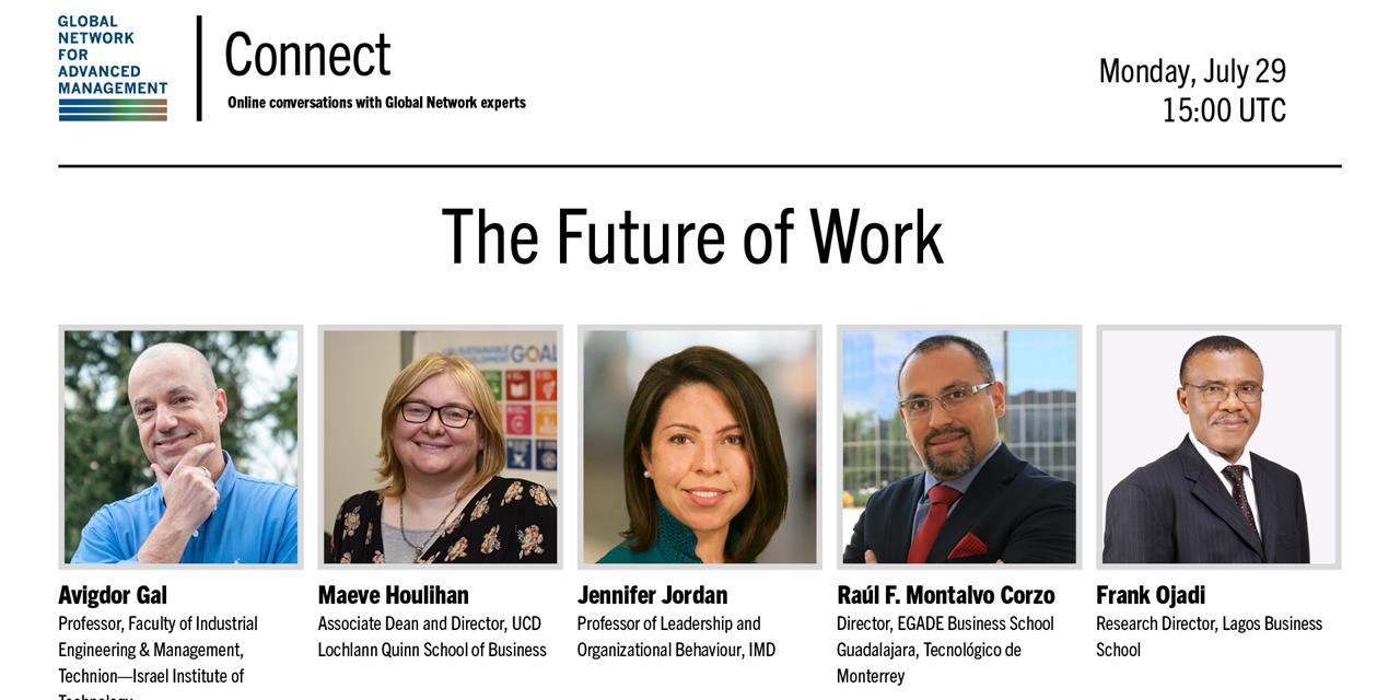 [WEBINAR] The Future of Work Event Logo