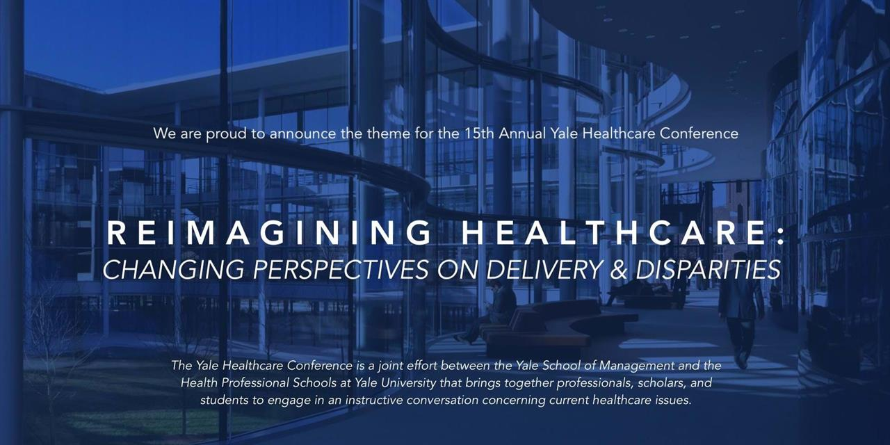 Yale Healthcare Conference 2019 Event Logo