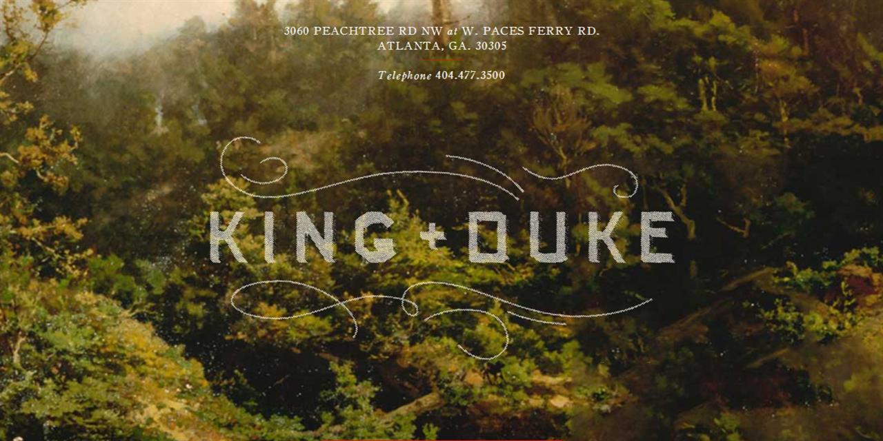 Atlanta Alumni Small Group Lunches - King + Duke (Buckhead) Event Logo