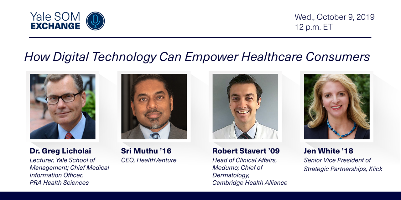 [WEBINAR] How Digital Technology Can Empower Healthcare Consumers Event Logo