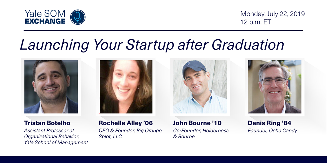 [WEBINAR] Launching Your Startup after Graduation Event Logo