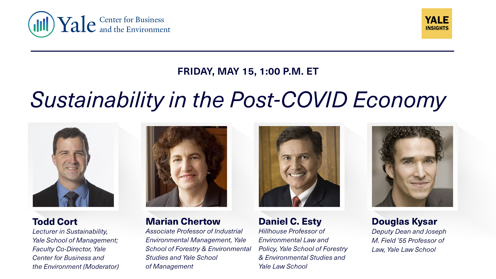 [WEBINAR] Sustainability in the Post-COVID Economy