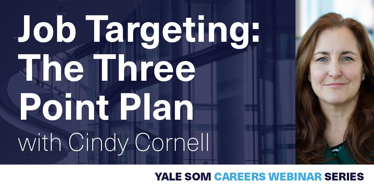 [WEBINAR] Job Targeting: The Three Point Plan