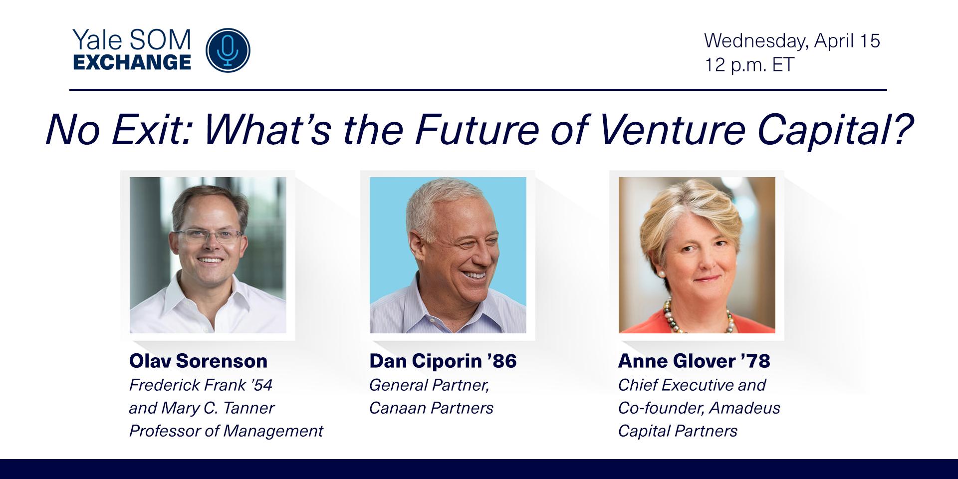 [WEBINAR] No Exit: What's the Future of Venture Capital?