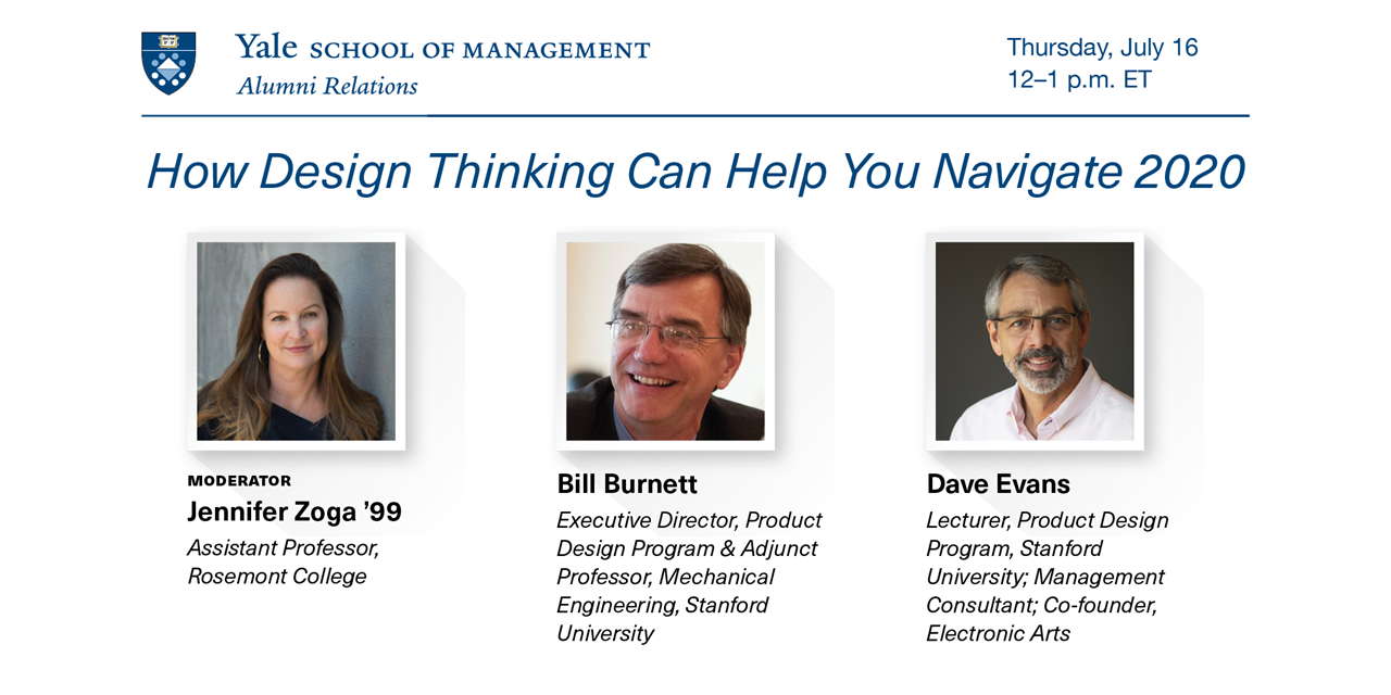 [WEBINAR] How Design Thinking Can Help You Navigate 2020 Event Logo
