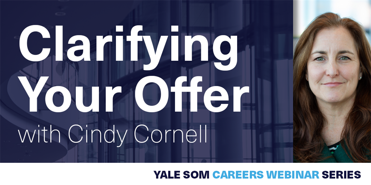 [WEBINAR] Clarifying Your Offer with Cindy Cornell Event Logo